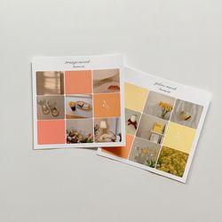 Color Concept Mood ( Orange & Yellow )