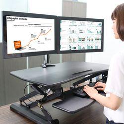 서서일하는 책상 스탠딩 데스크 스탠워크 수동식 PSW-V