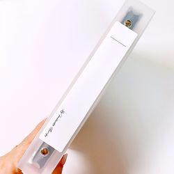 반투명 바인더 세네카(책등) 스티커[3매] 5종 - 리무버블