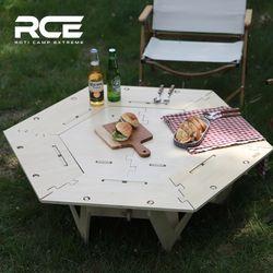 RCE 헥사 이너 화로 캠핑 테이블