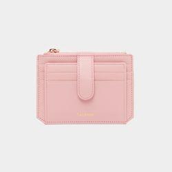 [무료배송] [스크래치] Dijon 301S Flap mini Card Wallet light pink