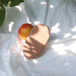 [무료배송] [스크래치상품] 오발 슬림 카드 지갑 4color