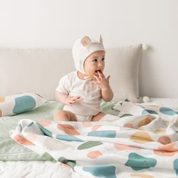 인견 아기 블랭킷 - 조약돌