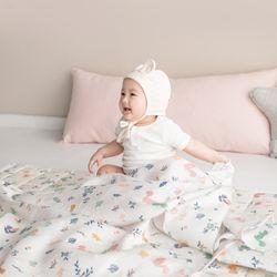 인견 아기 블랭킷 - 다람쥐숲