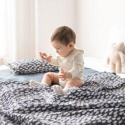 인견 아기 블랭킷 - 헬로우피쉬