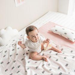 이중거즈 아기 블랭킷 -베리핑크