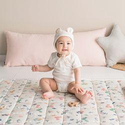 인견 아기 쿨매트 - 다람쥐숲