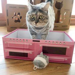 닥터심 고양이 스크래쳐박스 식빵박스 스크래쳐세트