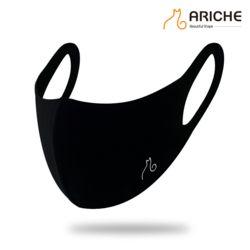 블랙 쉴드 마스크 자외선 차단/산책/패션/UV/