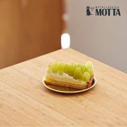 모타 산마르코 골드 원형접시 15 스텐 접시