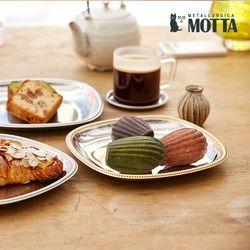 모타 산마르코 골드 사각접시 21 스텐 접시