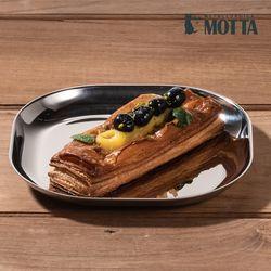 모타 모던 사각접시 15 스텐 접시