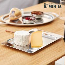모타 모던 직사각 트레이 28 스텐 사각 접시