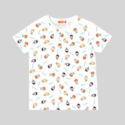 캐리 유아 아동 캐릭터 패턴 티셔츠