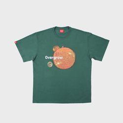 더 코스믹 티셔츠 그린