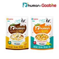 강아지보양식 영양듬뿍 삼계탕&북어탕 2팩세트
