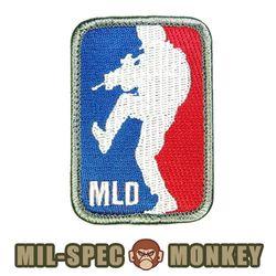 [밀스펙몽키] 패치 메이저 리그 도어키커 패치 (컬러)
