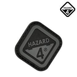 [해저드4] 다이아몬드 쉐이프드 로고 패치 (블랙)