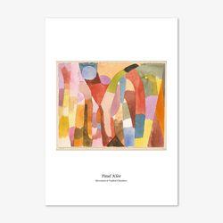 파울 클레 명화 인테리어 아트 포스터 30종 (A4사이즈)