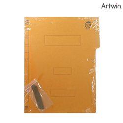 4000 황색 A4 종이 화일 (10개입)