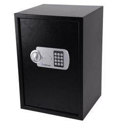 중형 금고 2중강철 잠금장치 간단고정 CES50 블랙