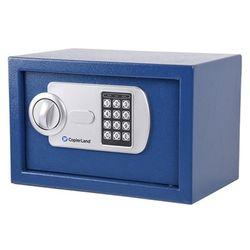 소형 금고 2중안전잠금장치 간단고정 CES 20 블루