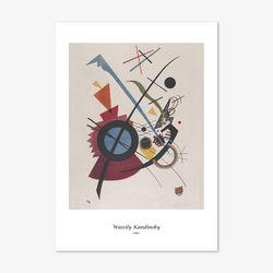 바실리 칸딘스키 명화 인테리어 아트 포스터 15종 (A4사이즈)