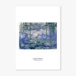 클로드 모네 명화 인테리어 아트 포스터 32종 (A4사이즈)