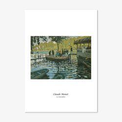 클로드 모네 명화 인테리어 아트 포스터 32종 (5x7 사이즈)