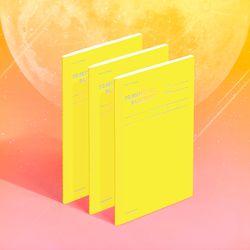 텐미닛 플래너 31DAYS 컬러칩 - 문라이트 3EA