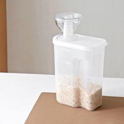 슬림 냉장고 쌀통 2kg