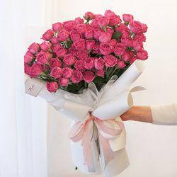 센세이션 장미 100송이 꽃다발 여자친구 기념일 졸업식 로즈데이