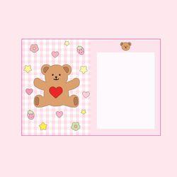 뽀짝 제키베어 카드