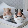 미니 컵속의 돼지 2color