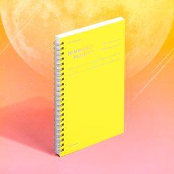 텐미닛 플래너 100DAYS 컬러칩 - 문라이트