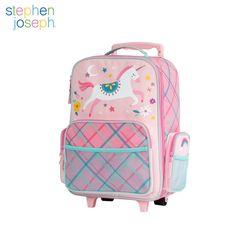 캐리어(유아용 여행가방) - 핑크 유니콘