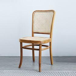 링고 라탄 의자