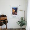 밤의 카페테라스 명화 패브릭포스터 70x100cm
