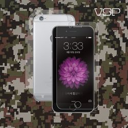 아이폰6/6s 플러스 강화유리 액정+밀리터리 측후면 1