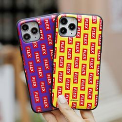 [Try] 플렉스 패턴 도어범퍼 케이스.LG G6(LGM600)