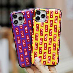 [Try] 플렉스 패턴 도어범퍼 케이스.LG G7(LM-G710)