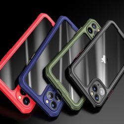아이폰11 PRO MAX XR XS 사각 에어백 범퍼 투명케이스