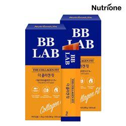 전지현 비비랩 더 콜라겐 핏 2박스(4주분) 콜라겐젤리