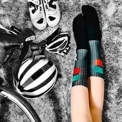 롱삭스 통풍우수 향균 고탄력 라이딩전용 자전거양말