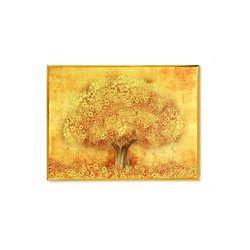돈을 부르는 인테리어 액자 리치리치 황금돈나무 (소)