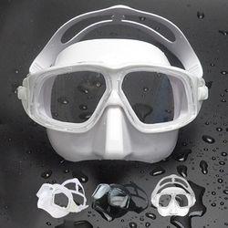 프렌젤 FZ02 엠버 프리다이빙 마스크