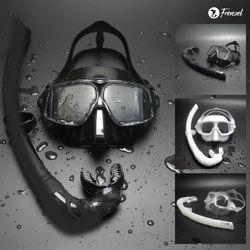 프렌젤 FZ02 엠버 프리다이빙 마스크스노클 세트