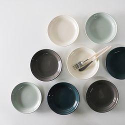 무스 접시 소 앞접시 4color
