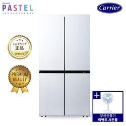[탁상용 선풍기증정] 캐리어 4도어 냉장고 화이트 CRF-SN566WFR (566L)