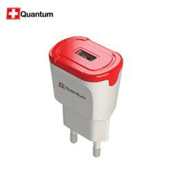 퀀텀 QC3.0 USB 1포트 분리형 고속충전기+C타입케이블